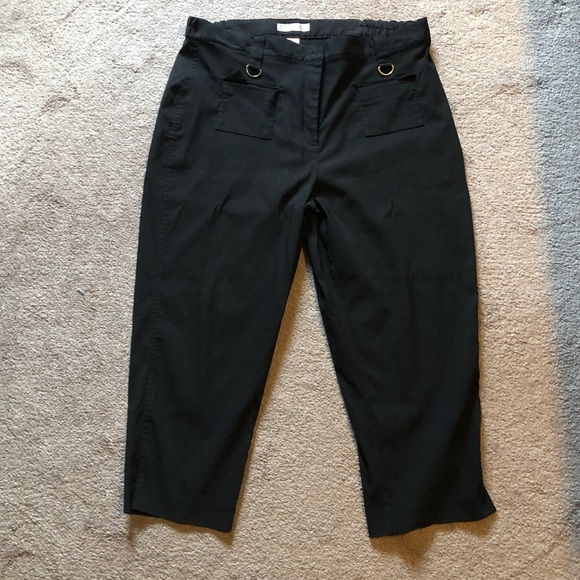 Dress Barn Pants - Dressbarn Black Ankle Pants